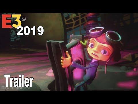 Psychonauts 2 - E3 2019 Trailer [HD 1080P]