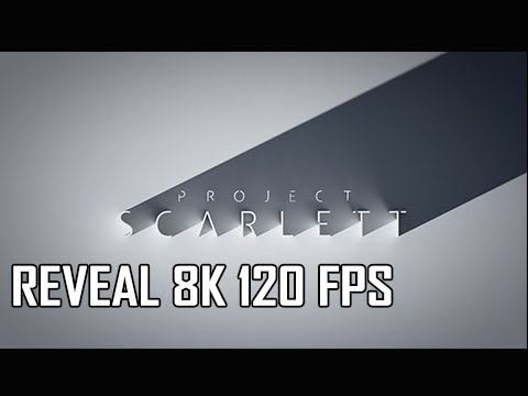 Xbox Project Scarlett 8K 120 FPS E3 2019 Reveal