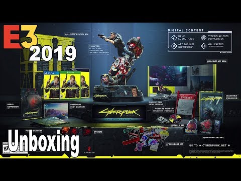 Cyberpunk 2077 - Collector's Edition Unboxing Trailer [HD 1080P]