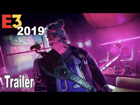 Rage 2 - Rise of the Ghosts Expansion Trailer E3 2019 [HD 1080P]