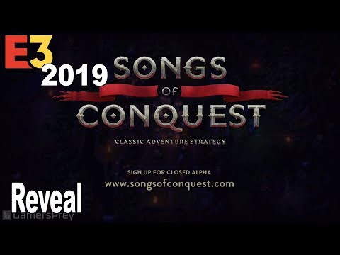 Songs of Conquest - Reveal Trailer E3 2019 [HD 1080P]