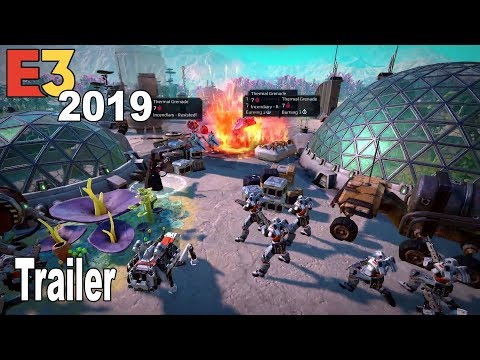 Age of Wonders: Planetfall - E3 2019 Trailer [HD 1080P]