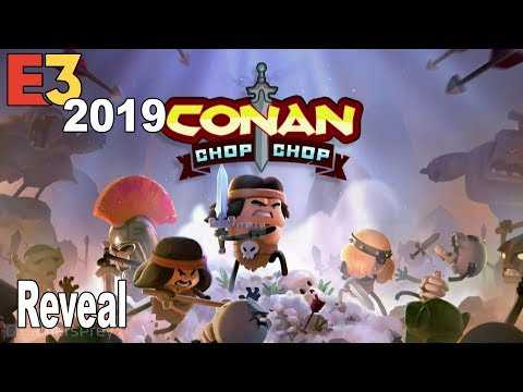 Conan Chop Chop - Reveal Trailer E3 2019 [HD 1080P]