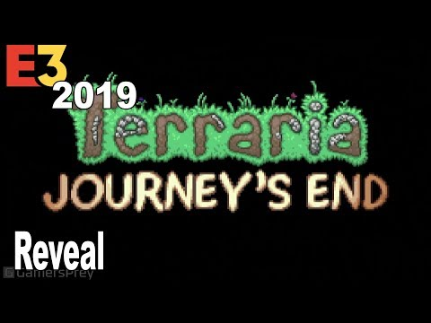 Terraria Journey's End - Reveal Trailer Extended E3 2019 [HD 1080P]