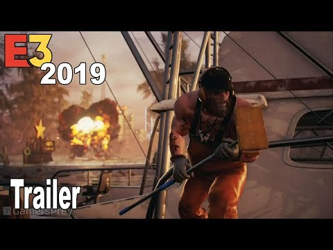 Maneater - Scaley Pete E3 2019 Trailer [HD 1080P]