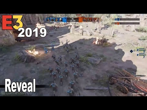 For Honor - Spectator Camera Reveal Trailer E3 2019 [HD 1080P]