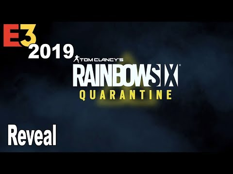 Rainbow Six Quarantine - Reveal Trailer E3 2019 [HD 1080P]