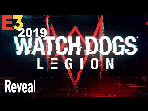 Watch Dogs Legion - Reveal Gameplay Walkthrough E3 2019 [4K 2160P]