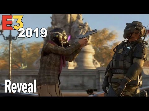 Watch Dogs Legion - Reveal Trailer E3 2019 [HD 1080P]