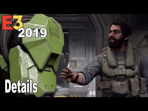 Halo Infinite - E3 2019 Trailer Details [HD 1080P]