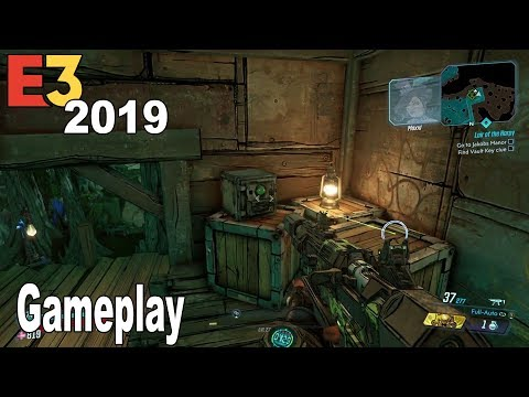 Borderlands 3 - E3 2019 Demo Gameplay [HD 1080P]