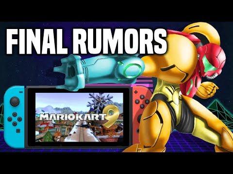Pre Nintendo Direct FINAL Rumors And Predictions!