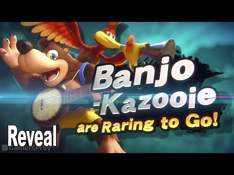 Super Smash Bros. Ultimate - Banjo-Kazooie Reveal Trailer E3 2019 [HD 1080P]