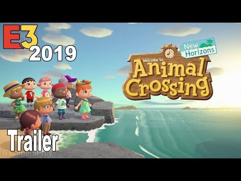 Animal Crossing New Horizon - E3 2019 Trailer [HD 1080P]
