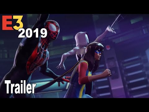 Marvel Ultimate Alliance 3: The Black Order - E3 2019 Trailer [HD 1080P]