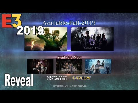 Resident Evil 5 and Resident Evil 6 - Nintendo Switch Reveal Trailer E3 2019 [HD 1080P]