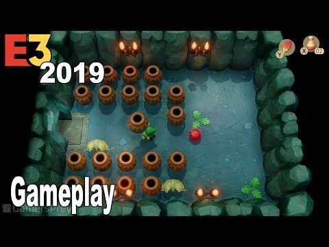 The Legend of Zelda: Link's Awakening - Gameplay Trailer E3 2019[HD 1080P]