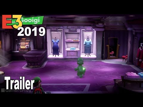 Luigi's Mansion 3 - E3 2019 Overview Trailer [HD 1080P]