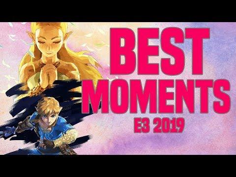 Top 5 BEST MOMENTS Nintendo E3 2019!