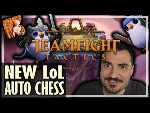 KRIPP ON THE NEW LoL AUTO CHESS: TEAMFIGHT TACTICS (TFT)
