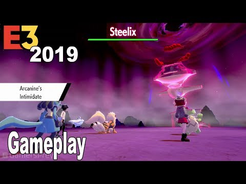 Pokémon Sword and Shield - E3 2019 Gameplay Demo [HD 1080P]