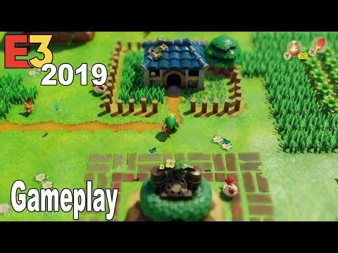 The Legend of Zelda: Link's Awakening Remake - E3 2019 Gameplay Demo [HD 1080P]