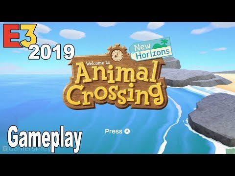 Animal Crossing New Horizons - E3 2019 Gameplay Demo [HD 1080P]