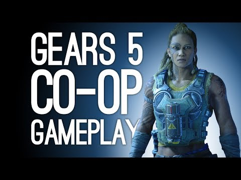 Gears of War 5 Gameplay! Let's Play Gears 5 Co-op - GET WRECKED, HIVE
