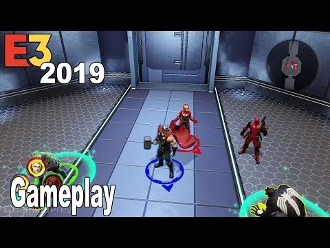 Marvel Ultimate Alliance 3: The Black Order - E3 2019 Gameplay Demo [HD 1080P]