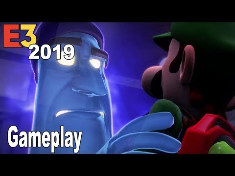 Luigi's Mansion 3 - E3 2019 Gameplay Demo [HD 1080P]