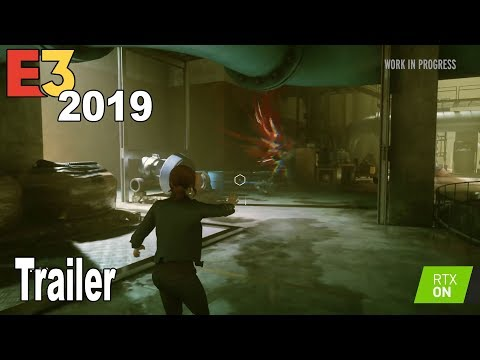 Control - E3 2019 RTX Trailer [HD 1080P]