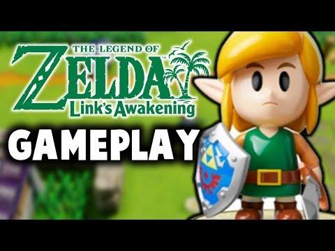 Zelda Link's Awakening Gameplay Walkthrough DIRECT FEED - E3 2019