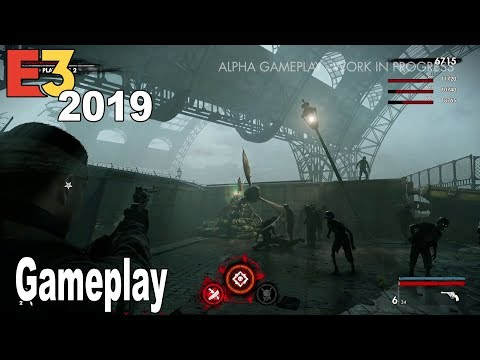 Zombie Army 4: Dead War - E3 2019 Gameplay Demo [HD 1080P]