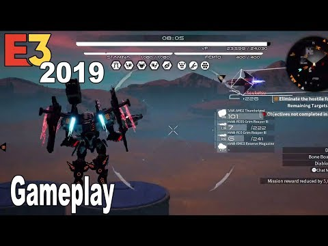 Daemon X Machina - E3 2019 Gameplay Demo [HD 1080P]