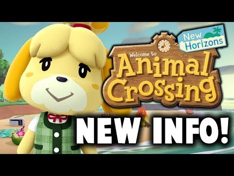 Animal Crossing New Horizons: BRAND NEW GAMEPLAY + NEW FEATURES!!