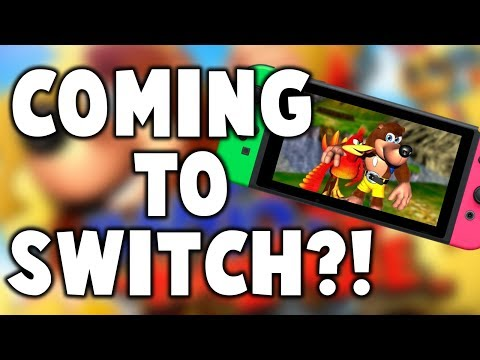 MYSTERIOUS Banjo Kazooie Listing Appears! New Game Coming To Switch??