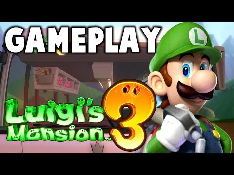 Lugi's Mansion 3 Gameplay Walkthrough - Direct Feed E3 2019