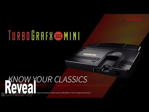 TurboGrafx-16 Mini - Reveal Trailer E3 2019 [HD 1080P]