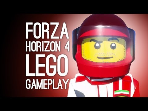 Lego Forza Gameplay! Let's Play Forza Horizon 4 Lego Speed Champions at E3 2019