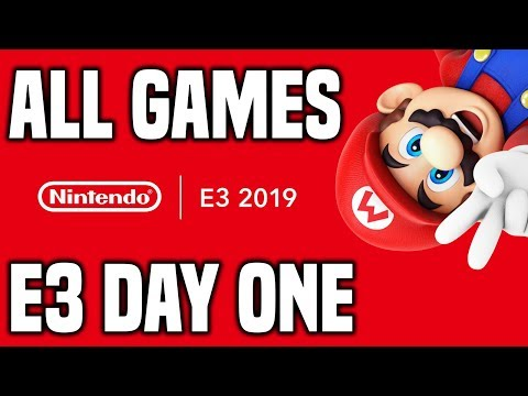 Nintendo E3 2019 - DAY ONE REVIEW! We Played All Nintendo Switch Games!