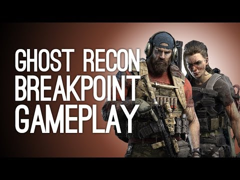 Ghost Recon Breakpoint Co-op Gameplay: PARACHUTE CRASH! ENDGAME TANK! - Let's Play Breakpoint