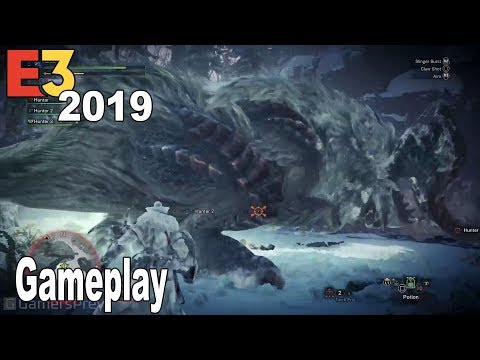 Monster Hunter World: Iceborne - E3 2019 Gameplay Demo [HD 1080P]