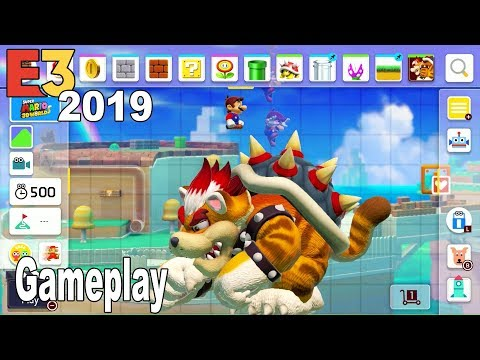 Super Mario Maker 2 - E3 2019 Gameplay Demo [HD 1080P]