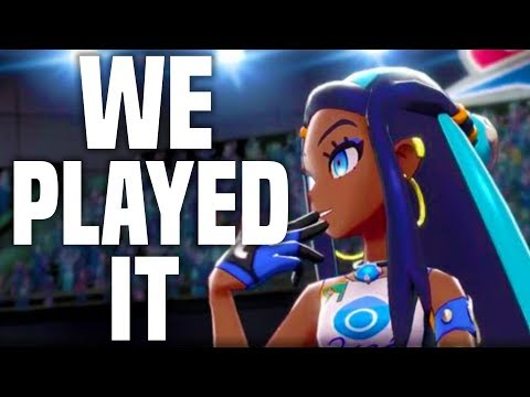 Pokemon Sword and Shield: IS IT FUN?! WE PLAYED IT! (E3 2019 Nintendo Switch)