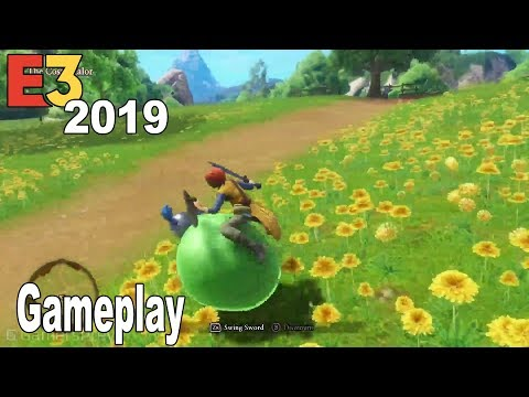 Dragon Quest XI S: Echoes of an Elusive Age | Definitive Edition - E3 2019 Gameplay Demo [HD 1080P]