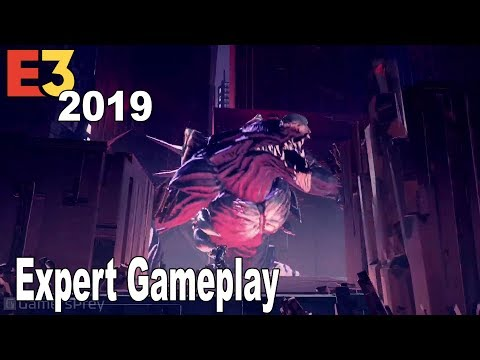 Astral Chain - E3 2019 Expert Gameplay [HD 1080P]