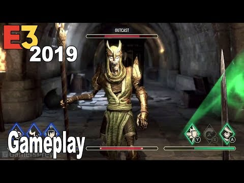 The Elder Scrolls Blades - E3 2019 Gameplay Demo [HD 1080P]