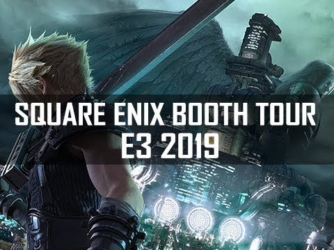 Square Enix Booth Tour E3 2019