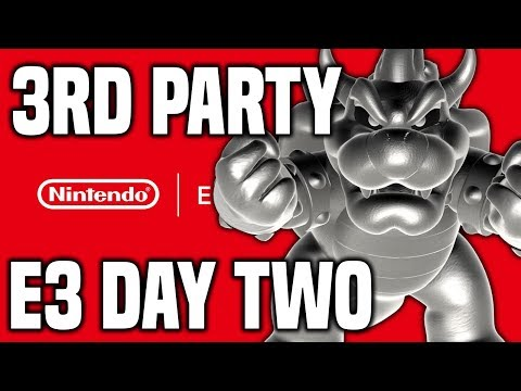 Nintendo E3 2019 - DAY TWO REVIEW! Third Party NEW Switch Games!