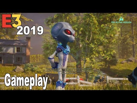 Destroy All Humans! Remake - E3 2019 Gameplay Demo [HD 1080P]